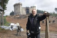 Director/producer Ridley Scott on the set of