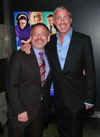Marc Shaiman and Scott Wittman at the after party of the premiere of
