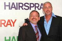 Marc Shaiman and Scott Wittman at the premiere of