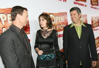 Gary Sinise, Penney Finkelman-Cox and Yair Landau at the premiere of