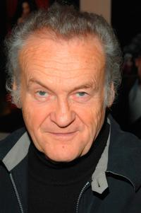 Jerzy Skolimowski at the 46th New York Film Festival directors party.