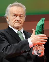 Jerzy Skolimowski at the 21th Tokyo International Film Festival.