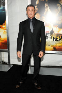 Sylvester Stallone at the New York premiere of
