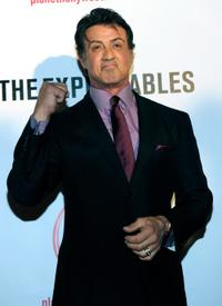 Sylvester Stallone at the screening of