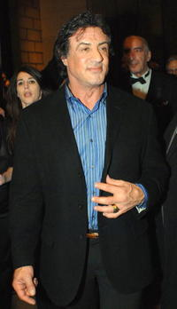 Sylvester Stallone at the after party for the Philadelphia premiere of ''Rocky Balboa.''