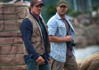 Sylvester Stallone and Jason Statham in