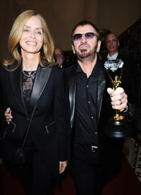 Barbara Bach and Ringo Starr at the World Music Awards 2008.