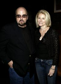 James Toback and his wife Stephanie at the Hamptons Magazine after party for the premiere of