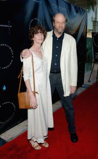 Ann Hearn and Stephen Tobolowsky at the Stephen Tobolowsky's Birthday Party and DVD release.