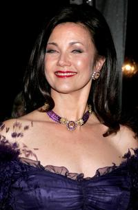 Lynda Carter at the America Ballet Theatre's 66th Annual Spring Gala dinner.