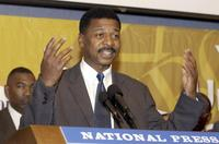 Robert Townsend at the MBC Network news briefing.