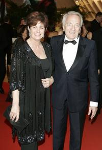 Jean-Pierre Cassel and his wife at the Opening Ceremony dinner at the Palais during the 59th International Cannes Film Festival.