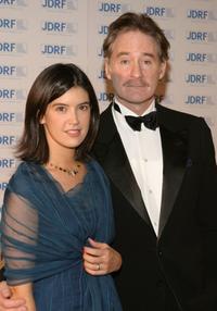 Phoebe Cates and her husband Kevin Kline at the Annual Promise Ball at the American Museum of Natural History.