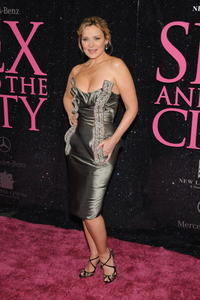Kim Cattrall at the N.Y. premiere of