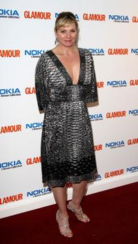 Kim Cattrall at the Glamour Women of the Year Awards.