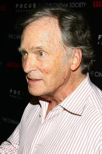 Dick Cavett at the screening hosted by The Cinema Society of