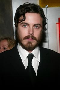 Casey Affleck at the 69th Annual New York Film Critics Circle Awards Dinner.