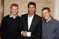 Jesse Plemons, Kyle Chandler and Zach Gilford at the 8th Annual AFI Awards cocktail reception.