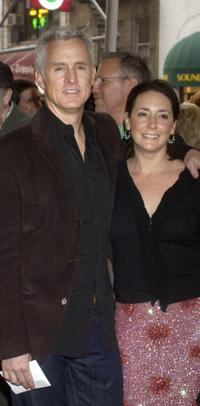 John Slattery and Talia Balsam at the opening night of