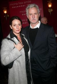 John Slattery and wife Becky at the world premiere of