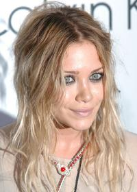 Mary-Kate Olsen at the presentation of Calvin Kleins new collection.