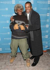 Tommy Davidson and Phil Morris at the premiere of