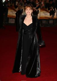 Samantha Bond at the Royal World Premiere of
