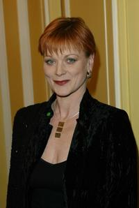 Samantha Bond at the London Film Critics Awards.