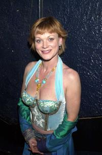 Samantha Bond at the aftershow party of