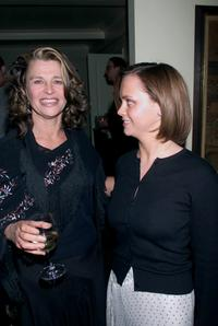Julie Christie and Christina Ricci at the party for
