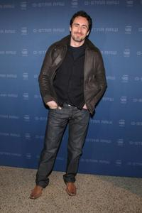 Demian Bichir at the Mercedes-Benz Fashion Week.