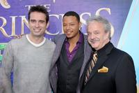 Bruno Campos, Terrence Howard and Jim Cummings at the California premiere of
