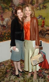 Jill Clayburgh and daughter Lilly at the after party of Festen.