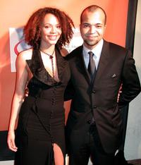 Carmen Ejogo and Jeffrey Wright at the 33rd Annual National Association for the Advancement of Colored People (NAACP) Image Awards after party.