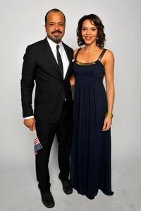 Jeffrey Wright and Carmen Ejogo at the 40th NAACP Image Awards.