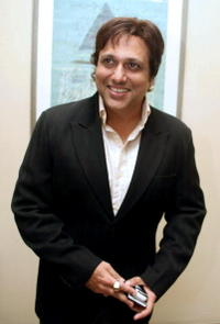 Govinda at the launch party for the film