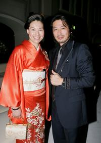 Kimiko and Hiroyuki Sanada at the IWC Da Vinci Launch party.