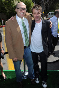 Mike Mitchell and composer Harry Gregson-Williams at the California premiere of