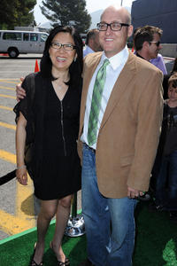 Teresa Cheng and Mike Mitchell at the California premiere of