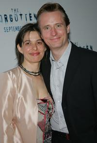 Linus Roache and Rosalind at the world premiere