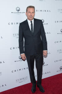 Kevin Costner at the New York premiere of