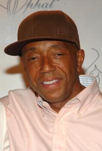 Russell Simmons at the Baby Phat fashion show after party.