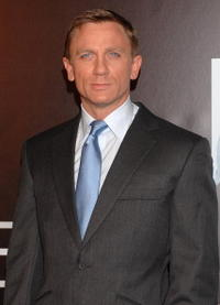 Daniel Craig at the Madrid premiere of