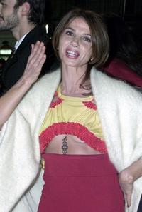 Victoria Abril at the European Film Awards 2002 ceremony.