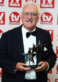 Bernard Cribbins at the TV Quick and TV Choice Awards.