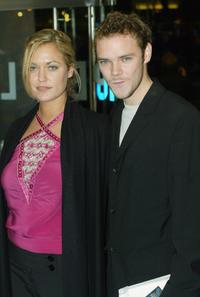 Joe Absolom at the London premiere of