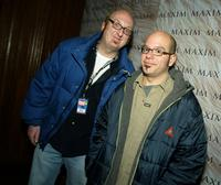 David Cross and Brian Posen at the Maxim Magazine's
