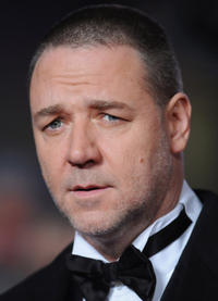 Russell Crowe at the world premiere of