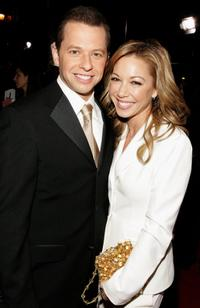 Jon Cryer and Sarah Trigger at the 33rd Annual People's Choice Awards.