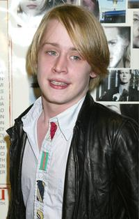 Macaulay Culkin at the New York premiere of
